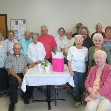 Senior Luncheon an Opportunity for Fellowship and Education